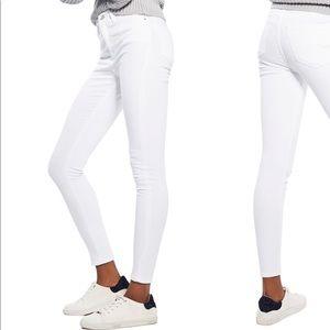 Topshop Jamie High-Waisted Skinny Jeans
